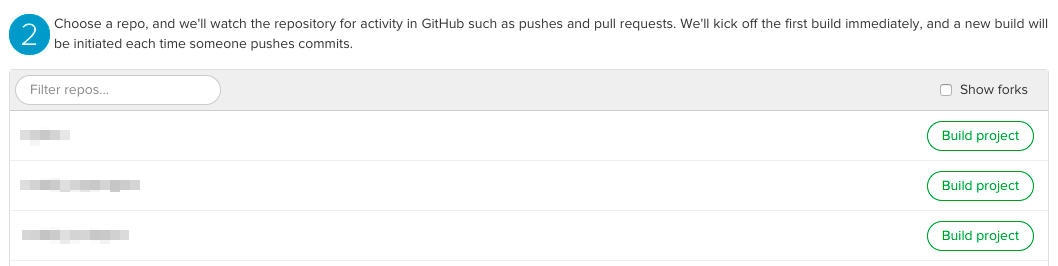 Choose Your GitHub Repository